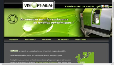 Site internet de Visioptimum International