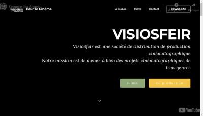 Site internet de Visiosfeir
