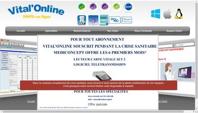 Site internet de Medi Concept
