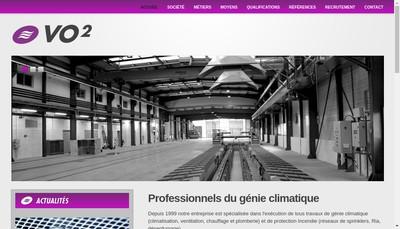 Site internet de Vo2