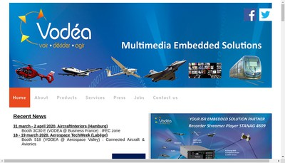 Site internet de Vodea