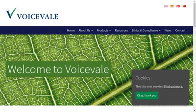Site internet de Voicevale France