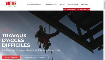 Site internet de Voltige France