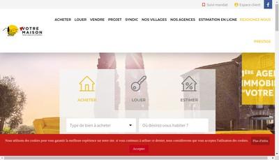 Site internet de Votre Maison