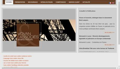 Site internet de Vovan