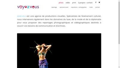 Site internet de Voyez-Vous