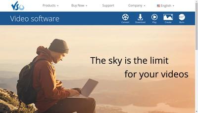 Site internet de Vso Software