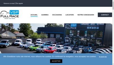 Site internet de Vsp Full Race