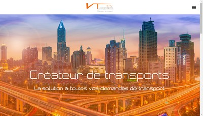 Site internet de Vt Logistics