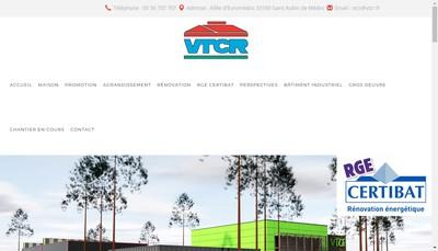 Site internet de SARL VTCR