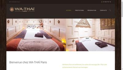 Site internet de Wa-Thai Paris, Wa-Thai France, Wa-Thai, Wa-Thai International, Wa Paris, Wa France, Wa International