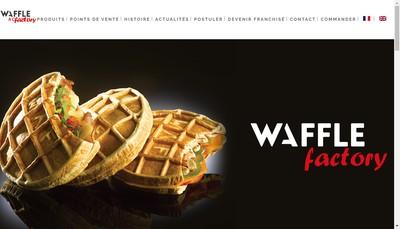 Site internet de Waffle Factory