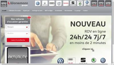 Site internet de L Warsemann Auto 41 L Warsemann Auto 36