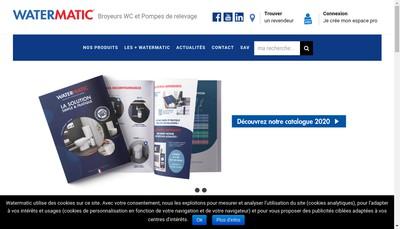 Site internet de Setma Europe