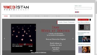 Site internet de Webistan