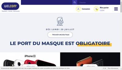 Site internet de Comcentre