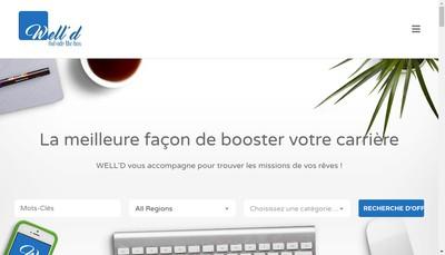 Site internet de Well'D