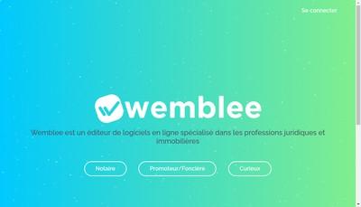 Site internet de Wemblee
