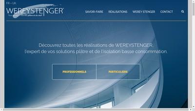 Site internet de Wereystenger Paris