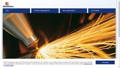 Site internet de Westfalen France
