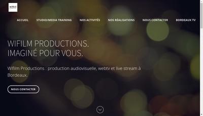 Site internet de Wifilm