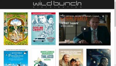 Site internet de Wild Bunch