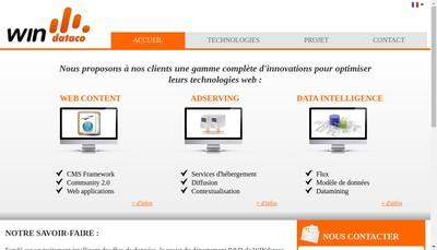 Site internet de Windataco