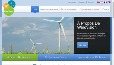 Site internet de Windvision France