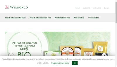 Site internet de Winhonco