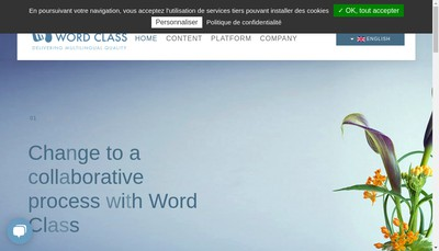 Site internet de Word Class