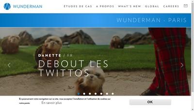 Site internet de Wunderman Wunderman Interactive Impiri