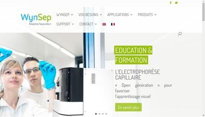 Site internet de Wynsep