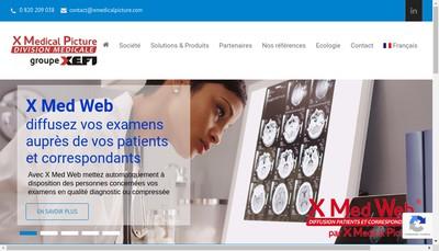 Site internet de X Medical Picture