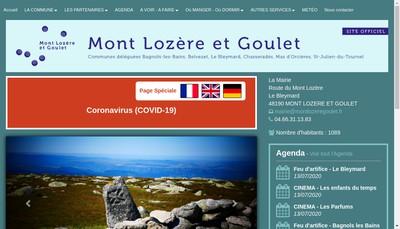 Site internet de Communes en Reseau