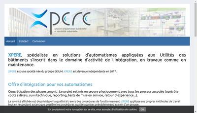 Site internet de Xpere