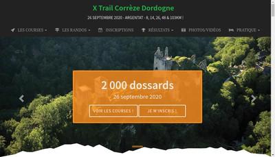 Site internet de Sports Evenements Vallee de la Dordogne