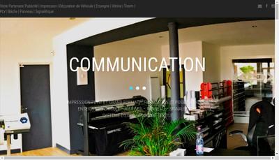 Site internet de Xtrem Graphic