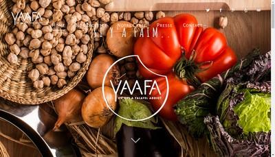 Site internet de Yaafa Falafel Company
