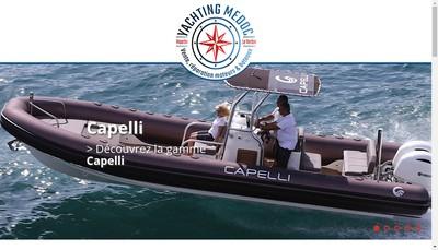 Site internet de Yachting Medoc