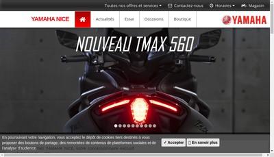 Site internet de Motos Jacky Onda