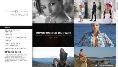 Site internet de SARL Yann Malotti