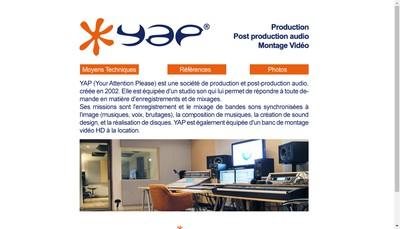 Site internet de Yap (Your Attention Please)