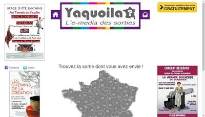 Site internet de Yaquoila