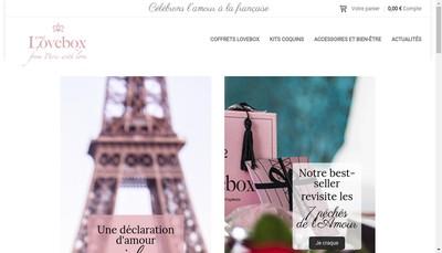 Site internet de Your Lovebox