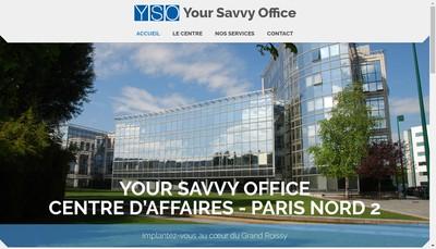 Site internet de Yso-Your Savvy Office