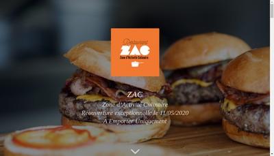 Site internet de Zac