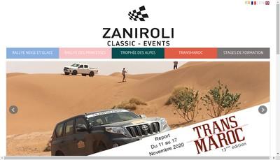 Site internet de Patrick Zaniroli Promotion