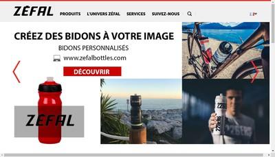 Site internet de Zefal Christophe