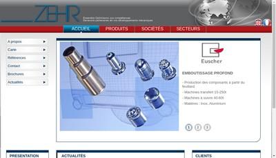 Site internet de Zehr Aero