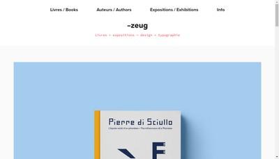 Site internet de Zeug